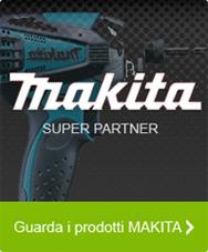 Siamo super partner Makita